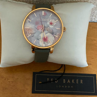 TED BAKER - ・未使用】TED BAKER テッドベーカー 文字盤花柄 時計 DW