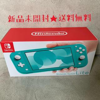 Nintendo Switch - 新品未開封★ニンテンドースイッチライト ターコイズ