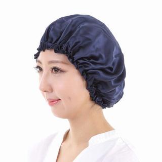天然素材シルク素材 ナイトキャップ ロングヘア可能