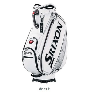 スリクソン(Srixon)の★新品、未使用★ スリクソンキャディバッグ GGC- S143 ホワイト(バッグ)