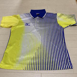 ミズノ(MIZUNO)の【MIZUNO】卓球 ユニフォーム ゲームシャツ JTTAロゴあり メンズM(卓球)
