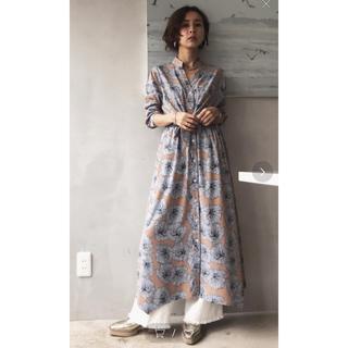 Ameri VINTAGE - Ameri VINTAGE アメリヴィンテージ TIE SHIRT DRESS