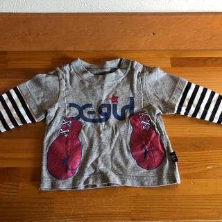 エックスガール(X-girl)のエックスガールX-girl カットソー 12M(Tシャツ)