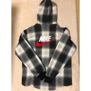 Supreme - Supreme®/Nike® Plaid Hooded Sweatshirt