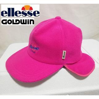 ellesse - 90年代 ELLESE GOLDWIN 日本製 イヤーカフキャップ