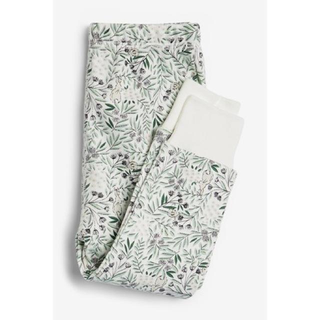NEXT(ネクスト)の新品!ネクスト ナイトウェアセット うさぎ キッズ/ベビー/マタニティのベビー服(~85cm)(パジャマ)の商品写真