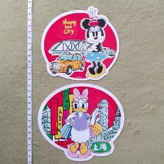 Disney - ディズニー ステッカー 2枚セット