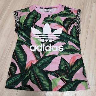 adidas - 美品 adidas ボタニカルリーフ柄Tシャツ s Originals