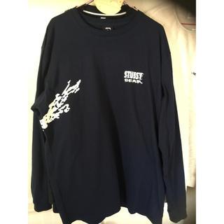 ステューシー(STUSSY)のステューシー ロングTシャツ  新品未使用(Tシャツ/カットソー(七分/長袖))