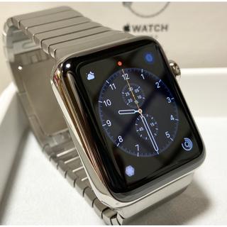 Apple Watch - Apple Watch series2 42mm ステンレス リングブレスレット