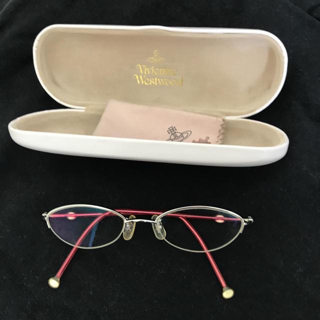 Vivienne Westwood(ヴィヴィアンウエストウッド)のヴィヴィアン 眼鏡ピンク レディースのファッション小物(サングラス/メガネ)の商品写真