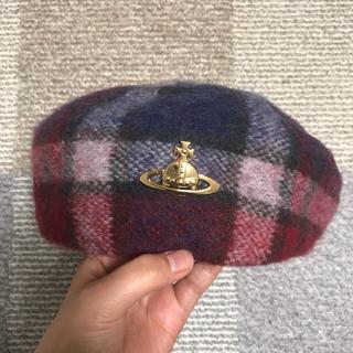Vivienne Westwood - ヴィヴィアン ウエスト ウッド 帽子 ベレー帽 チェック