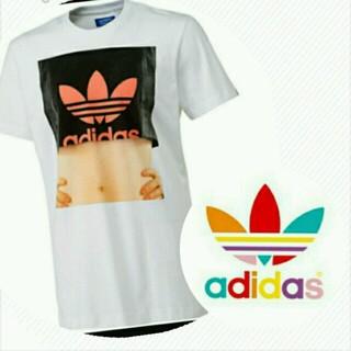 アディダス(adidas)のadidasoriginalsセクシーT(Tシャツ/カットソー(半袖/袖なし))