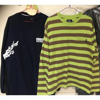 ステューシー(STUSSY)のステューシー ロングTシャツ 2枚(Tシャツ/カットソー(七分/長袖))