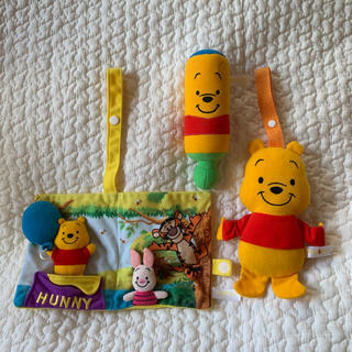 Disney - プー ベビー おもちゃ セット
