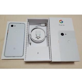 【SoftBank】中古美品Google Pixel3a SIMロック解除済