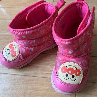アンパンマン ブーツ 15センチ ピンク