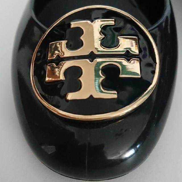 Tory Burch(トリーバーチ)のトリバーチ 黒 レインラバーパンプス レディースの靴/シューズ(レインブーツ/長靴)の商品写真
