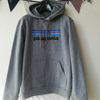 2019patagonia/パタゴニア パーカーグレイSサイズ