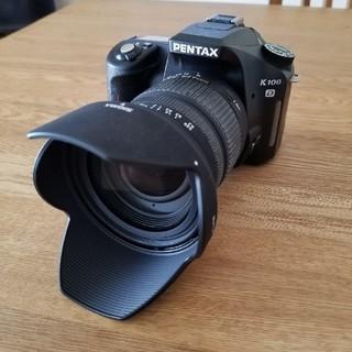 PENTAX - ペンタックスk100d sigma dc 18-50mm ex macroレンズ