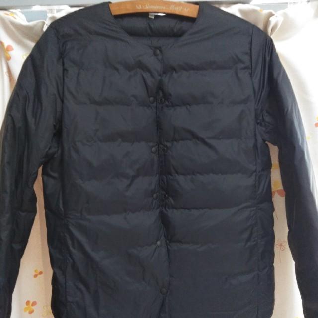 MUJI (無印良品)(ムジルシリョウヒン)のラズベリー様専用 無印良品 フレンチダウン ポケッタブル ノーカラー ブルゾン レディースのジャケット/アウター(ダウンジャケット)の商品写真