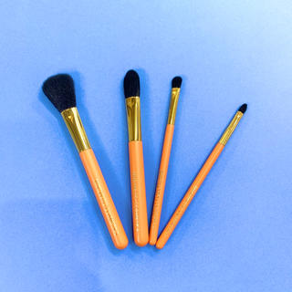 MIKIMOTO COSMETICS - 新品■ミキモト MIKIMOTO メイクアップ ブラシ 化粧筆 4本セット