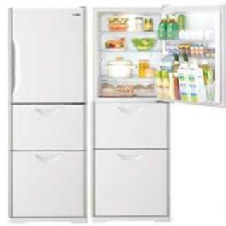 日立 - 冷蔵庫 ホワイト 日立 置けちゃうスリム 大きめサイズ