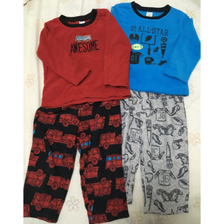 カーターズ(carter's)のパジャマ 2セット (サイズ2T)(パジャマ)