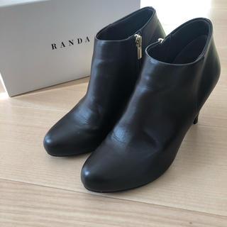 ランダ(RANDA)のranda 防水ショートブーツ (ブーティ)
