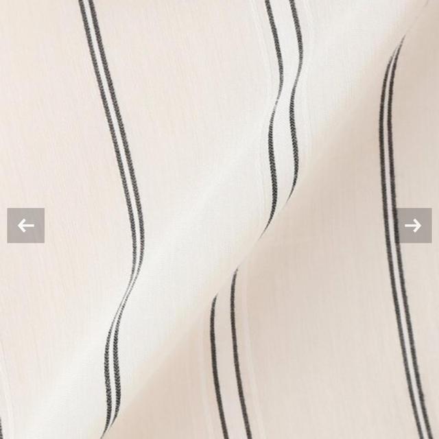 IENA(イエナ)のマルチストライプバンドカラーロングシャツ レディースのトップス(シャツ/ブラウス(長袖/七分))の商品写真