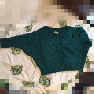グレイル(GRL)の最終値下げ!美品♡GRL暖かドルマンニット♡フリーサイズ(ニット/セーター)