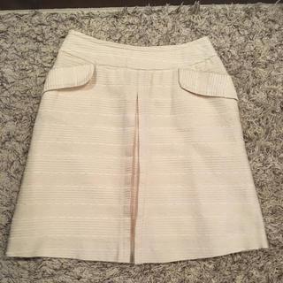 N.Natural beauty basic - [送料無料] 白 スカート 上品