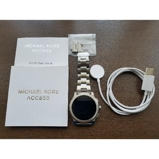 マイケルコース(Michael Kors)のMICHAEL KORS スマートウォッチ (腕時計(デジタル))