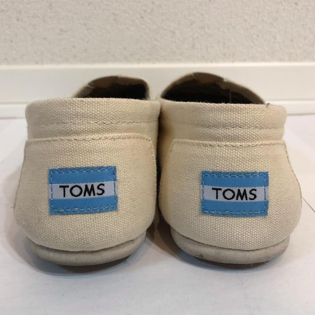 TOMS(トムズ)のTOMS スリッポン 26.0cm 美品 メンズの靴/シューズ(スリッポン/モカシン)の商品写真