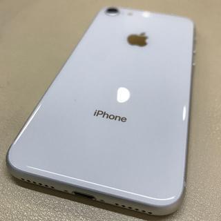 iPhone - 【SIMフリー/超美品】iPhone8 64GB シルバー★バッテリー100%★