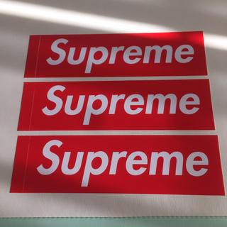シュプリーム(Supreme)のSupreme - ステッカー(その他)