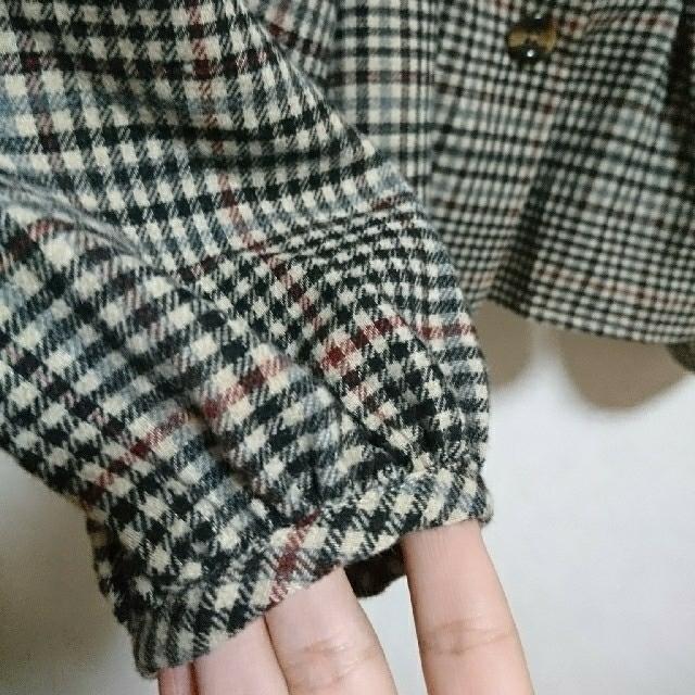 しまむら(シマムラ)の(未使用品)2PINK チェックスクエアネックBL レディースのトップス(シャツ/ブラウス(長袖/七分))の商品写真