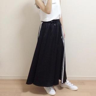 adidas - adidas スカート ブラック
