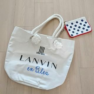 LANVIN en Bleu - 新品未使用■ランバンオンブルー  トートバッグ