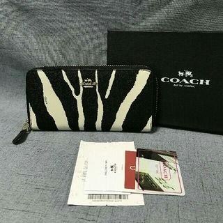 COACH - 【新品】COACHコーチ ファスナー長財布F52340