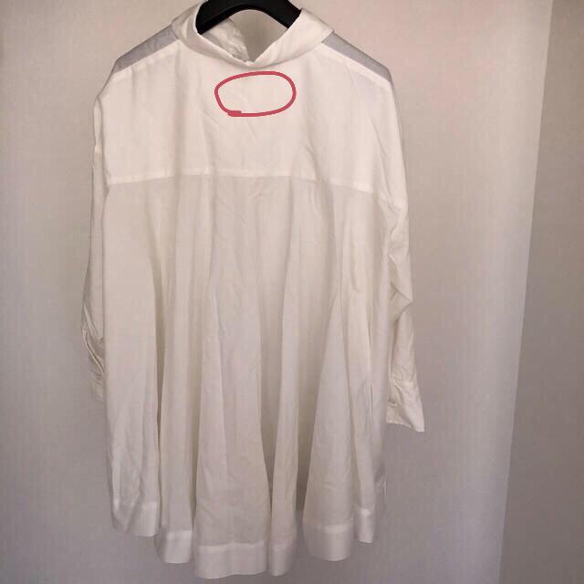 Mila Owen(ミラオーウェン)のMyu バックフリルシャツ レディースのトップス(シャツ/ブラウス(長袖/七分))の商品写真