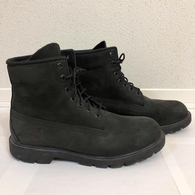 Timberland(ティンバーランド)のティンバーランド ブーツ 黒 27.0cm 美品 メンズの靴/シューズ(ブーツ)の商品写真
