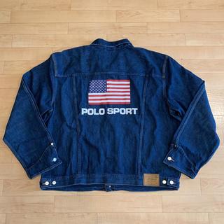 ポロラルフローレン(POLO RALPH LAUREN)の新品 POLO SPORT ポロスポーツ Gジャン XXL デニムジャケット(Gジャン/デニムジャケット)
