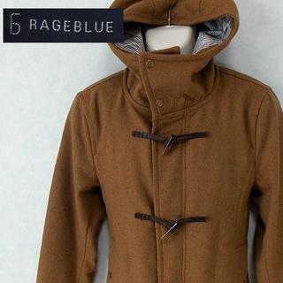レイジブルー(RAGEBLUE)の【RAGEBLUE】 美品 レイジブルー ブラウンダッフルコート L(ダッフルコート)