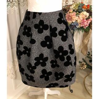 M'S GRACY - 期間限定セール!(17)エムズグレーシー 花柄スカート 38サイズ