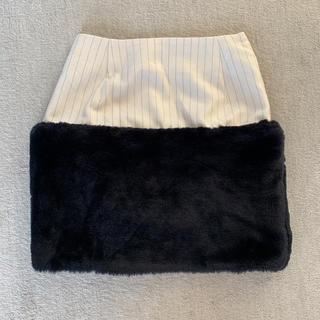 ディーホリック(dholic)のLOW classic ファースカート 韓国ブランド(ミニスカート)