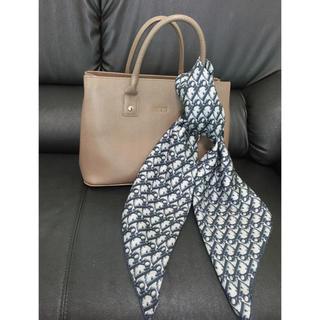 クリスチャンディオール(Christian Dior)の新品未使用】Diorシルク100%スカーフ(バンダナ/スカーフ)