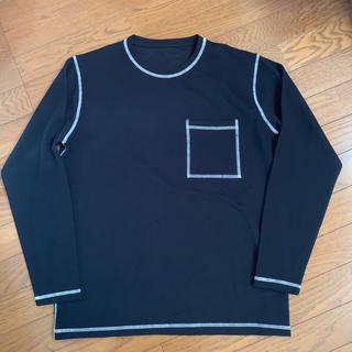 シップス(SHIPS)のホワイトステッチ ロンT カットソー インナー シップス ジャカード(Tシャツ/カットソー(七分/長袖))