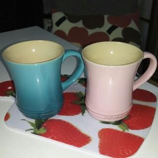 ルクルーゼ(LE CREUSET)の専用  ル・クルーゼ マグカップ ブルーのみ(グラス/カップ)