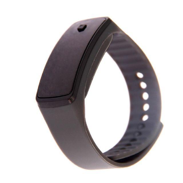グレー超軽量 シリコンバンド デジタルウォッチ LED表示腕時計 男女兼用の通販
